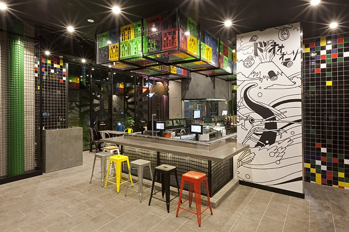 Sushizilla Restaurant amp Kiosk By Vie Studio Sydney
