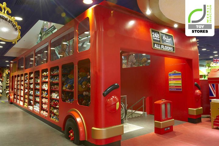Toy stores retail hamleys flagship store by chute for Retail interior designers in london
