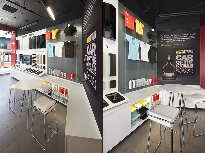 » Tesla showroom by MBH Architects, Los Angeles - California