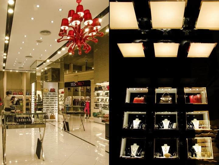 Tesoro store by N Design Team Karachi Pakistan Retail Design Blog