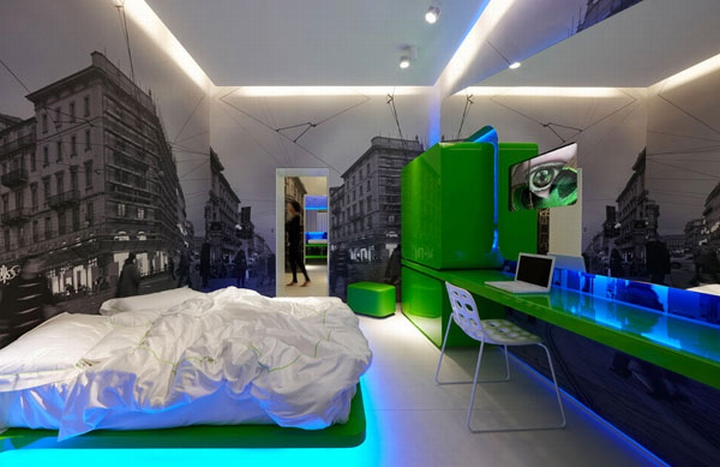 Town house street boutique hotel milan retail design blog for Design boutique hotel