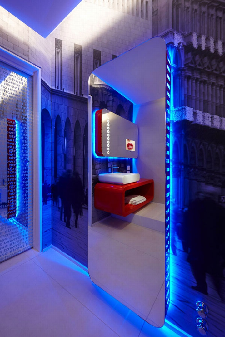 Town house street boutique hotel milan retail design blog for Boutique hotel design