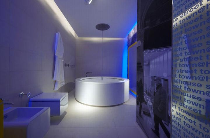 Ванные комнаты дизайн освещение