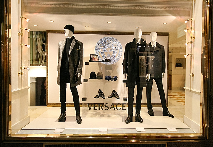 Versace Windows 2013 Autumn Vienna Austria 187 Retail