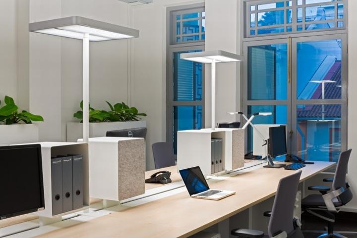 Waldmann Lighting S Regional Headquarters By Siren Design