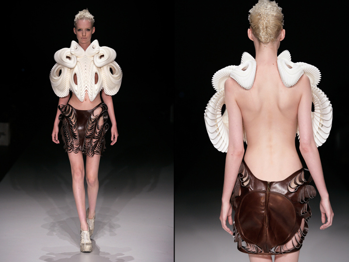 3d printed high tech haute couture collection by daniel
