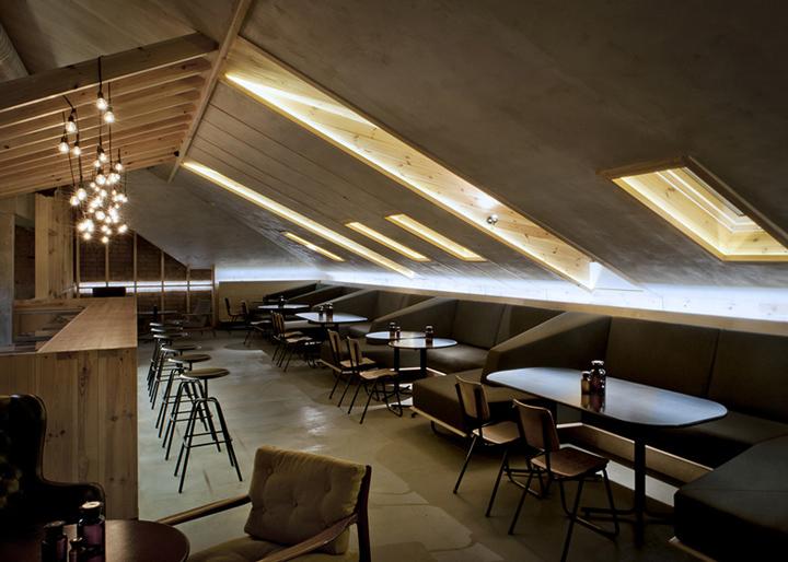 187 Attic Bar By Inblum Architects Minsk Belarus
