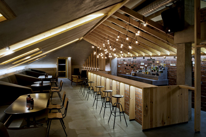 ATTIC bar by Inblum Architects, Minsk – Belarus » Retail ...