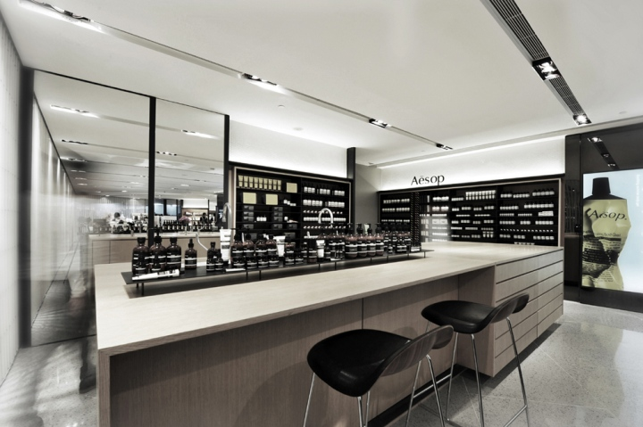 Lab Furniture Concept Endearing Aesop Lab Conceptcheungvogl Architects Hong Kong » Retail . Design Decoration