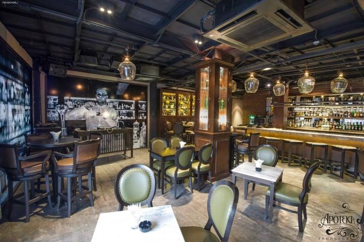 Apoteka Thonglor Bar Bangkok Thailand 187 Retail Design Blog