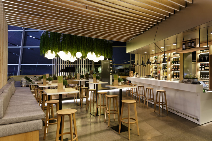 Bavarie Restaurant Munich Germany Retail Design Blog