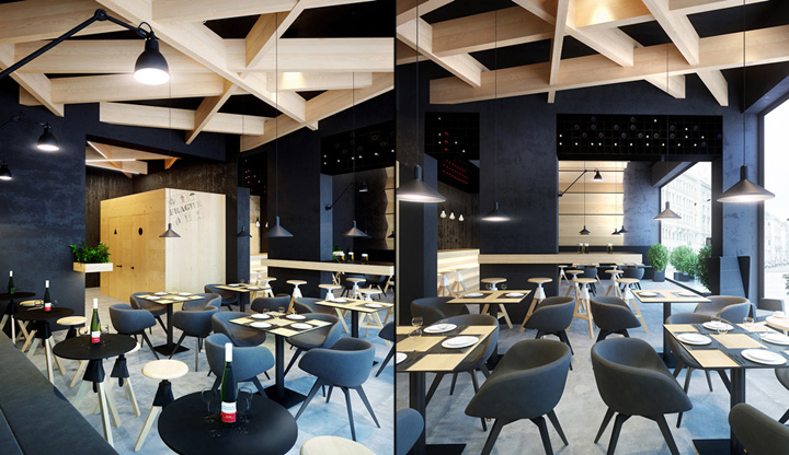 Bristol 2 Cafe Bar Concept By Umbra Design Ivano Frankivsk Ukraine Retail Design Blog
