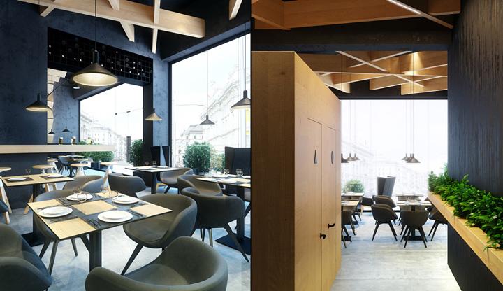 Bristol cafe bar concept by umbra design ivano