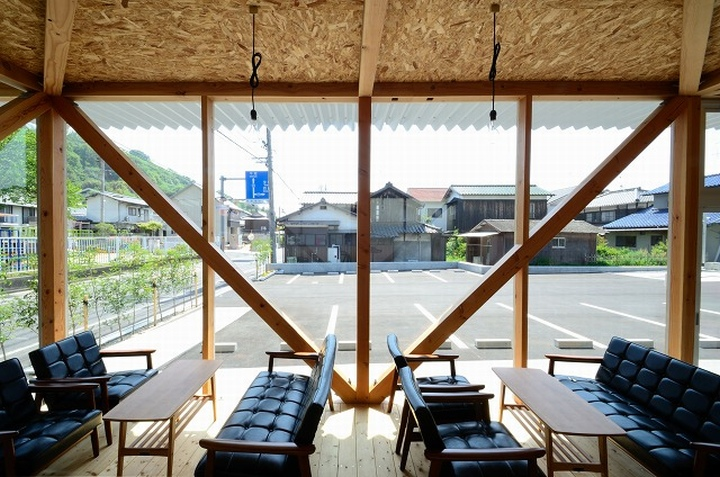 Cafeteria by Niji Architects Ushimado Japan 04 Cafeteria in Ushimado by Niji Architects, Okayama   Japan