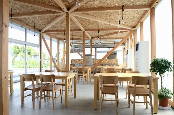 Cafeteria by Niji Architects Ushimado Japan 06 Cafeteria in Ushimado by Niji Architects, Okayama   Japan