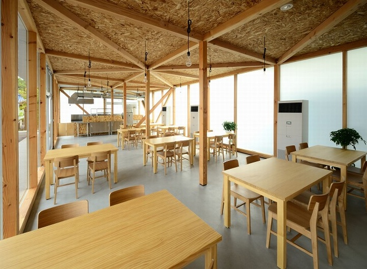 Cafeteria by Niji Architects Ushimado Japan 07 Cafeteria in Ushimado by Niji Architects, Okayama   Japan