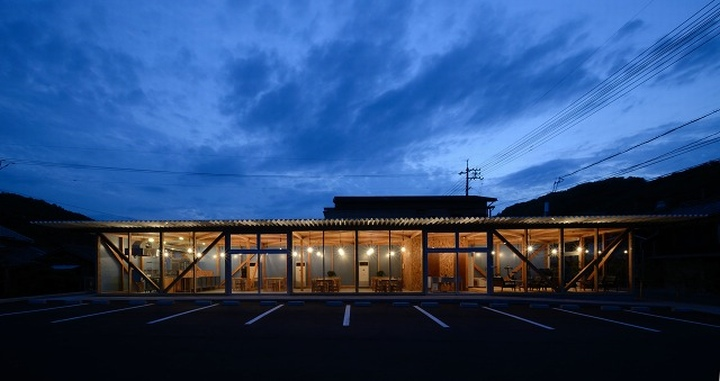 Cafeteria by Niji Architects Ushimado Japan 11 Cafeteria in Ushimado by Niji Architects, Okayama   Japan