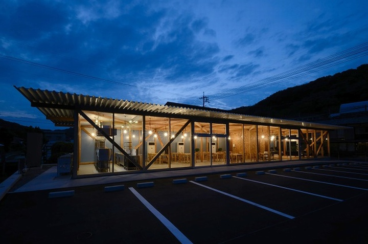 Cafeteria by Niji Architects Ushimado Japan 12 Cafeteria in Ushimado by Niji Architects, Okayama   Japan