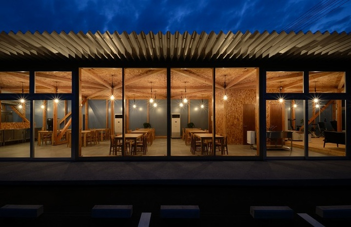 Cafeteria by Niji Architects Ushimado Japan 13 Cafeteria in Ushimado by Niji Architects, Okayama   Japan