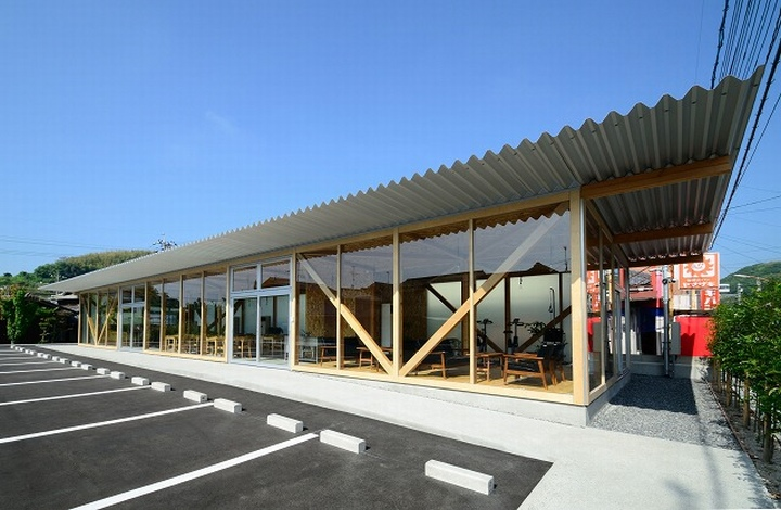Cafeteria by Niji Architects Ushimado Japan 16 Cafeteria in Ushimado by Niji Architects, Okayama   Japan