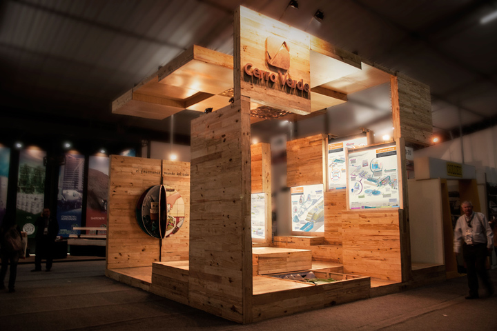 Exhibition Stand Wood : Peru retail design