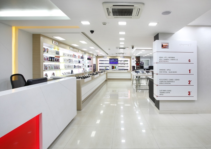Channel 9 By Four Dimensions Retail Design Bangalore India Retail Design Blog