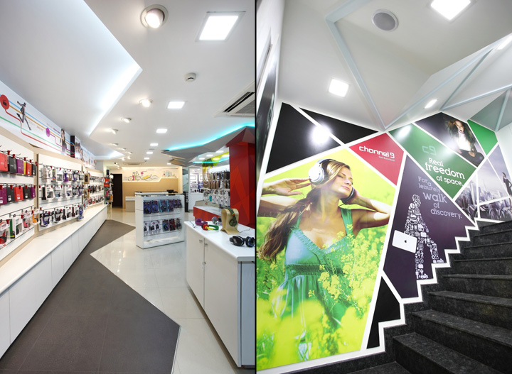 » Channel 9 By Four Dimensions Retail Design, Bangalore U2013 India