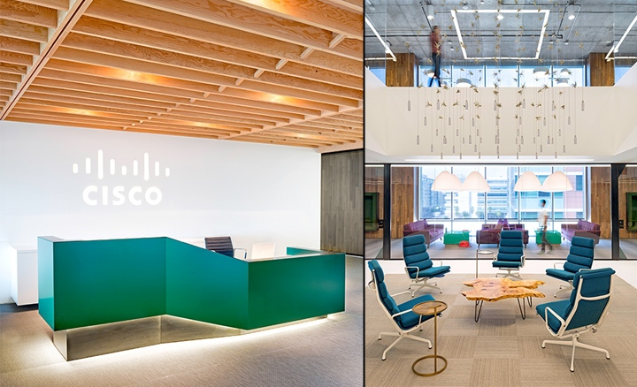 maintaining merakis cozy ambience in the hangar sized complex proved more challenging oas solution was to create a medley of small gathering spaces cisco meraki office