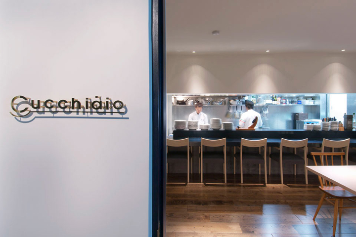 Cucchiaio italian restaurant by ninkipen ikeda osaka for Design hotel osaka