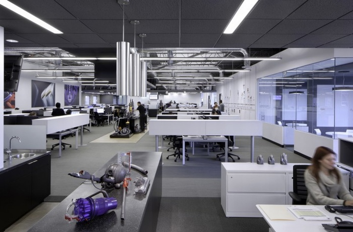 Dyson customer support center by ia interior architects for Office design help