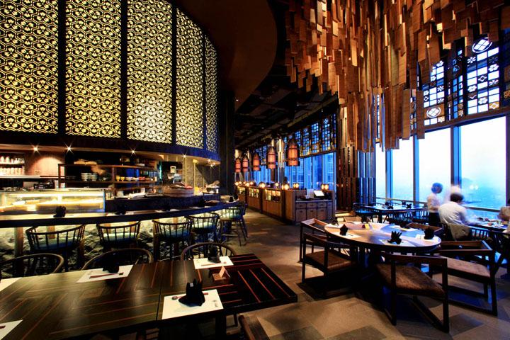 Enmaru japanese fine dining restaurant by metaphor for Design hotel jakarta