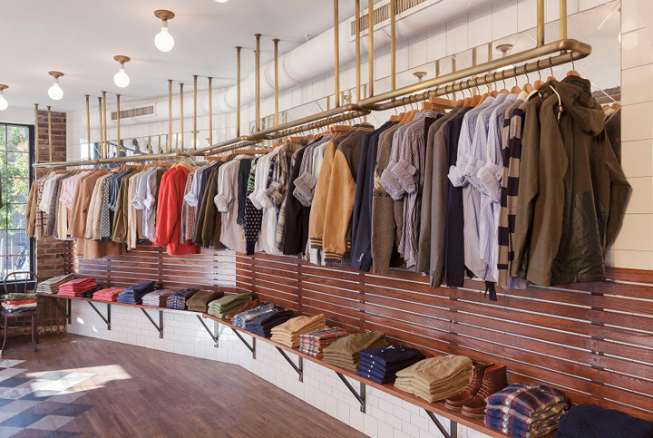 Gant Rugger store, New York City \u00bb Retail Design Blog