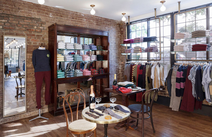 Gant rugger new york city retail design