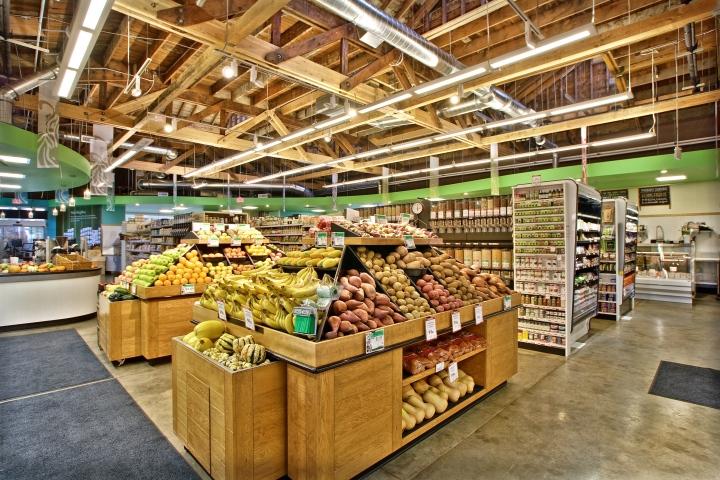 Groceries retail design