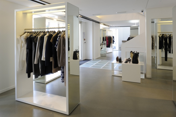 Excellent Joseph Store At St Germain By Rad Abillama Architects Paris U  France With St Germain Furniture Store