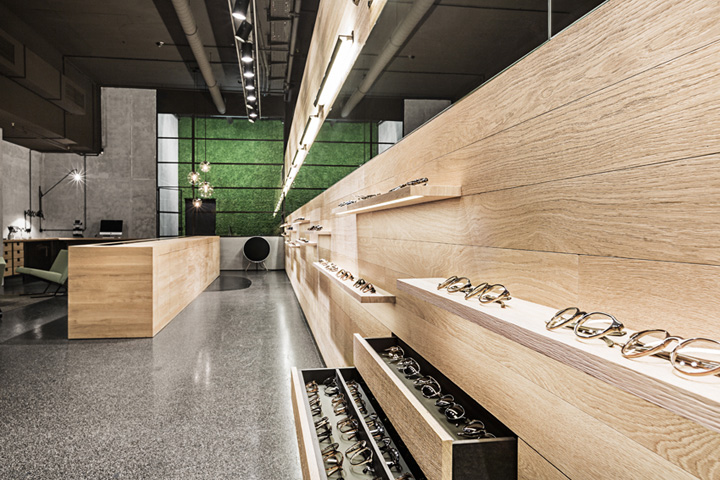 Leidmann eyewear shop by kirsten scholz stephanie for Design shop deutschland
