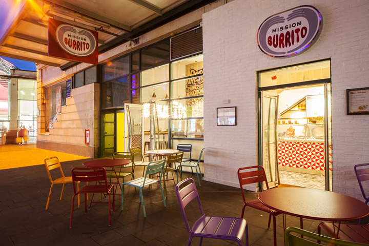 Mission Burrito Restaurant By Simple Simon Design Cardiff UK