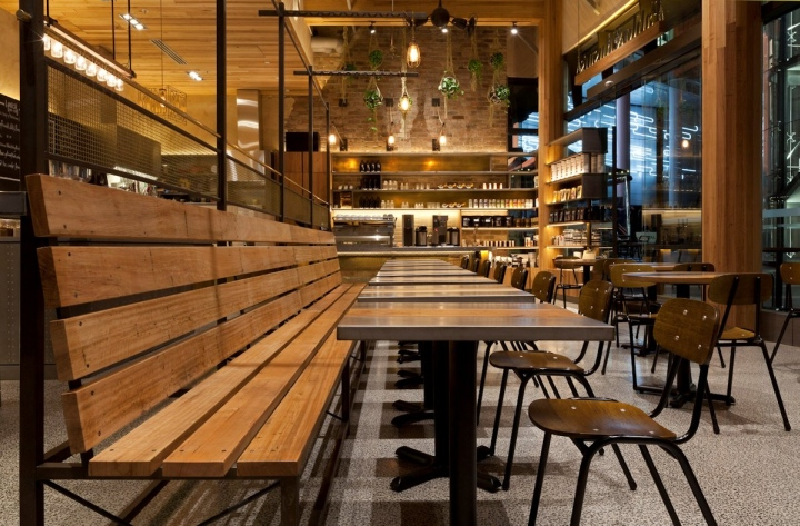 Caf By Giant Design Sydney Australia Retail Design Blog
