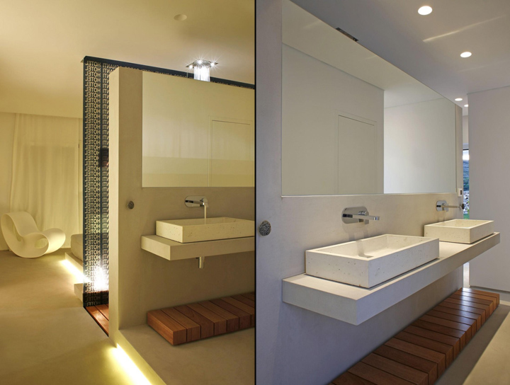 Bathroom Wall Cabinet White - Paros pagani hotel by a31 architecture krotiri greece 187 retail