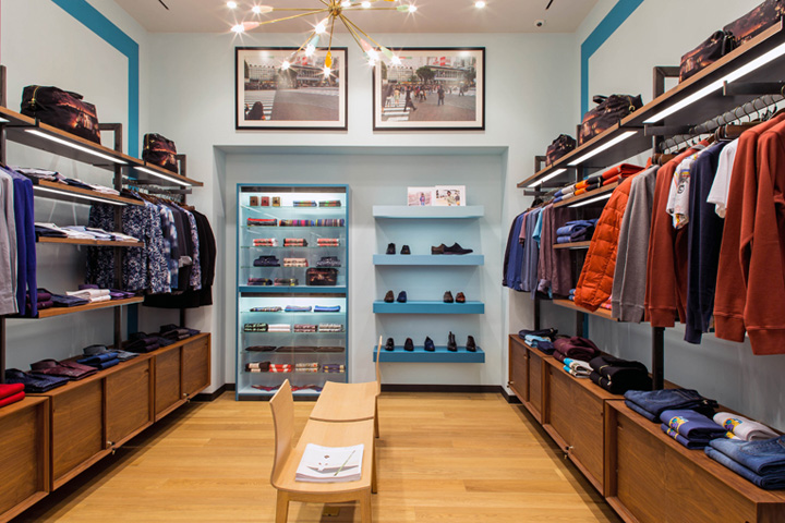 Similar To Many Other Paul Smith Stores Across The Planet Interior Design Is A Blend Of Modern Classic Elements And Wide Range