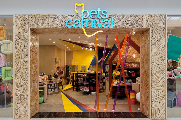 Pets Carnival store by rptecture architects, Melbourne – Australia ...