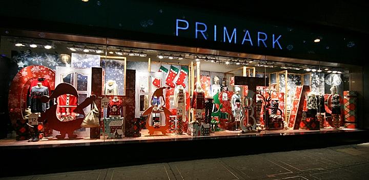 187 Primark Christmas Shop Windows London
