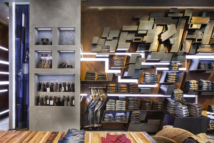 187 Rifle Flagship Store By David Rossi Design Milan Italy