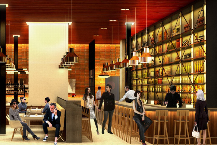 Design For The Restaurant In Ann Arbor Draws From Intellectual And Political Spirit Of City Itself Operates As A Hub Not Only