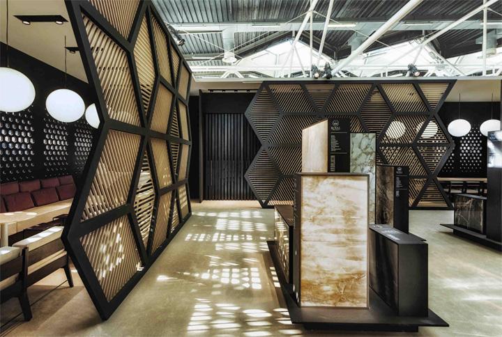 Exhibition Stand Design Italy : Royal ceramica pavilon by paolo cesaretti bologna italy