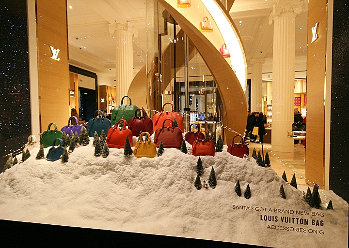 Selfridges Christmas Shop Windows London!