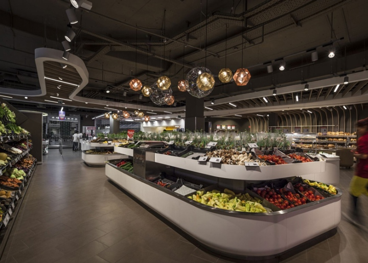 Spar supermarket flagship store by LAB5 architects, Budapest u2013 Hungary u00bb Retail Design Blog