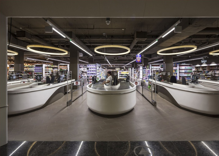 Spar Supermarket Flagship Store By LAB5 Architects Budapest Hungary Retail Design Blog