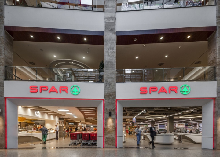 187 Spar Supermarket Flagship Store By Lab5 Architects