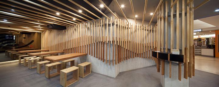 Sushi Restaurant Design sushi hub restaurantrptecture architects, sydney » retail